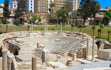 Roman Amphitheatre And Kom El Dikka Image
