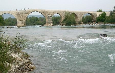 Aspendos Bridge Image