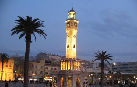 Saat Kulesi Or Izmir Clock Tower Image