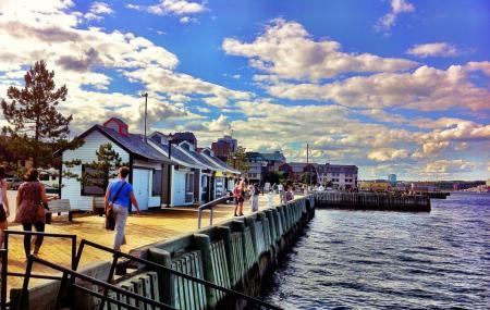 Halifax Waterfront Boardwalk Image