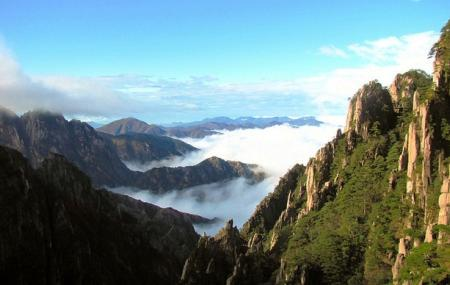 Mt Huangshan Or Yellow Mountain Scenic Area Image