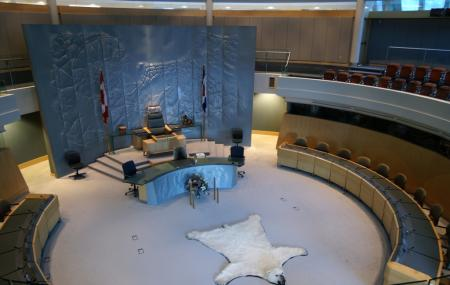 The Legislative Assembly Building, Yellowknife