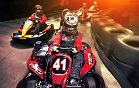 Full Throttle Indoor Karting, Cincinnati