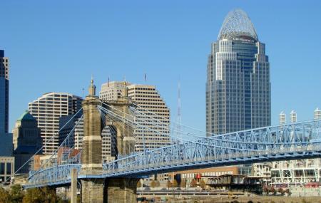 Roebling Suspension Bridge Image