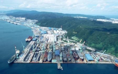 Hyundai Mipo Dockyard Image