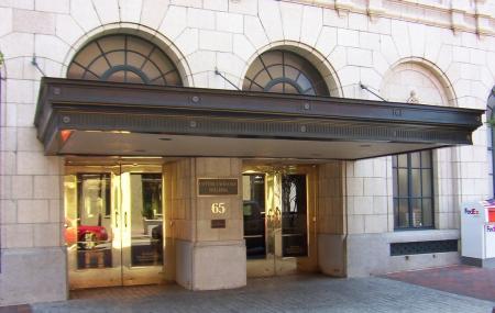 Memphis Cotton Exchange Building Image