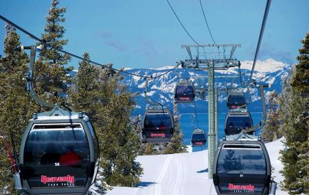 The Gondola At Heavenly Image