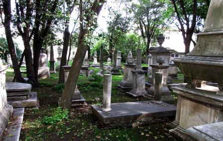 Old English Cemetery Image