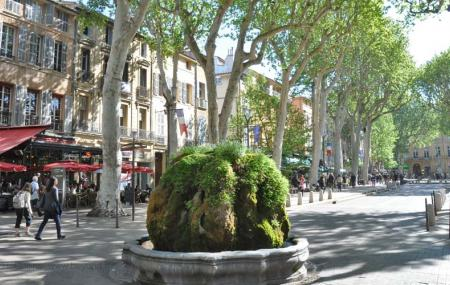 Mossy Fountain Image