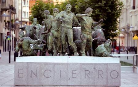 Monumento Al Encierro Image