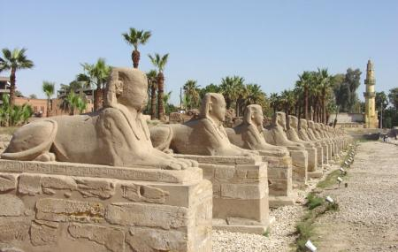 Avenue Of Sphinxes Image