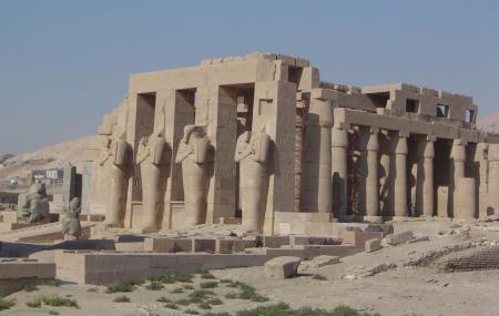 Ramesseum Or Mortuary Temple Of Ramses I I Image