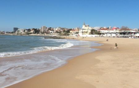 Tamariz Beach Or Praia Do Tamariz Image