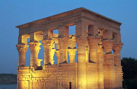 Sound And Light Show - Philaetemple Of Kom Ombo Image