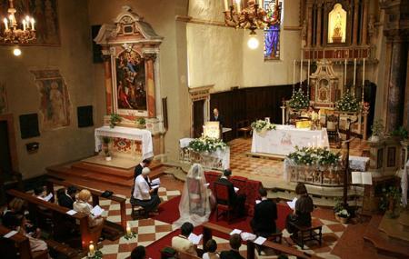 Church Of St. Mary Of The Snow Or Chiesa Di Santa Maria Della Neve Image