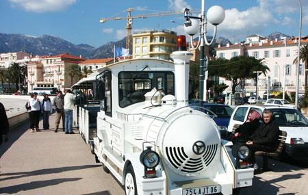 The Petit Train Of Menton Image