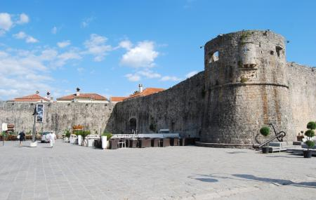 Budva City Walls Image