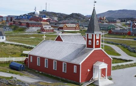 The Nuuk Cathedral Or Church Of Our Saviour Image