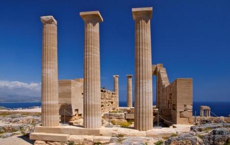 Acropolis Of Lindos Image