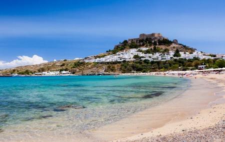 Lindos Beach Image