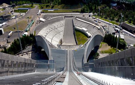 Holmenkollen Ski Museum And Ski Jump Tower Image