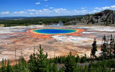 Grand Prismatic Spring Image