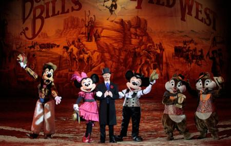 Buffalo Bill's Wild West Show With Mickey And Friends Image