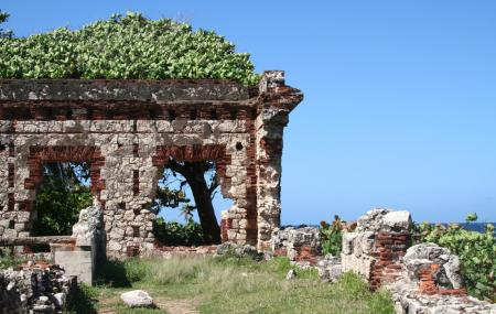 Old Aguadilla Lighthouse Ruins Image