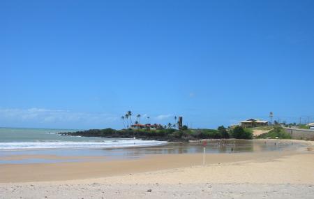 Praia De Areia Preta Image