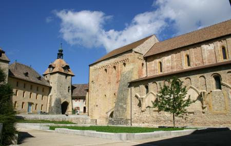Abbey Church Romainmotier Image