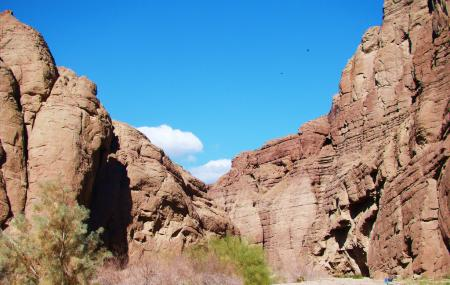 Painted Canyon And The Mecca Hills Image