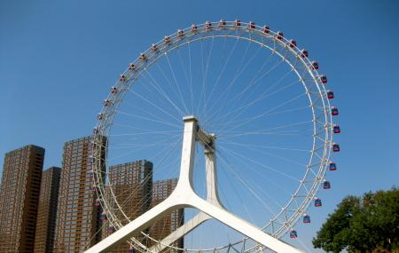 Ferris Wheel, Eye Of Tianjin Image