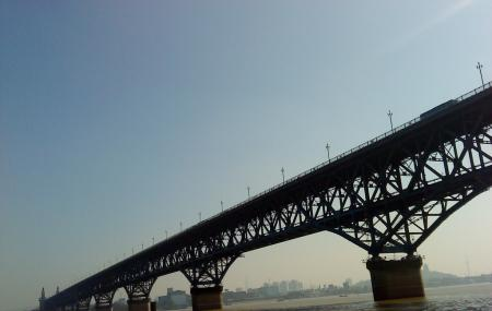 Nanjing Yangtze River Bridge Image