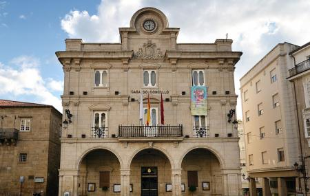 Plaza Mayor And Town Hall Image