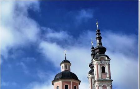 Villach's Fine Church Image