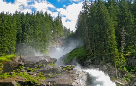 Krimml Waterfalls Image