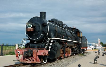 Steam Locomotive Museum Image