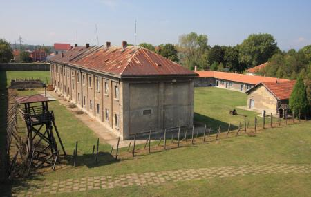 Red Cross Nazi Concentration Camp Image
