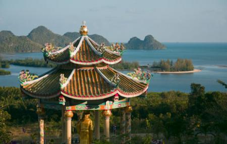 South China Sea Temple Image