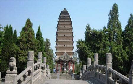 White Horse Pagoda Image