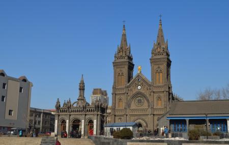 Harbin Sacred Heart Of Jesus Cathedral Image