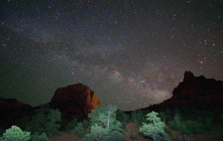Star Gazing At Sedona Image