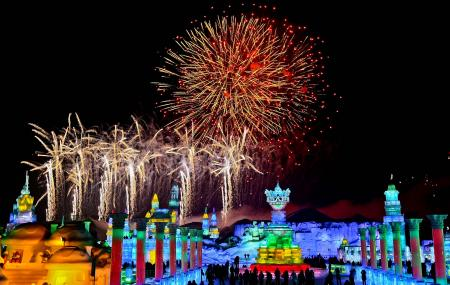 Harbin Ice Light Garden Party Image