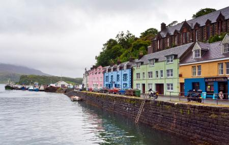 Portree Harbour Image