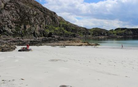 Sound Of Sleat Beach Image