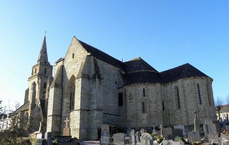 Eglise De Brelevenez Image