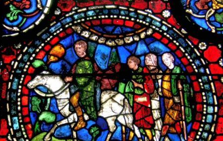 Canterbury Glass Art Image