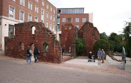 St Catherine's Chapel And Almshouses Image