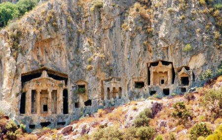 Lycian Rock Tombs Image