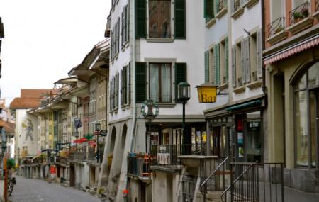 Vieille Ville De Thoune Image